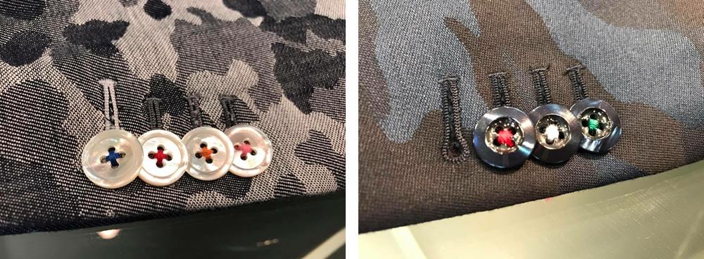 お直し例 縫い糸変更